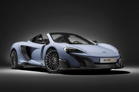 MCLAREN'S HOT NEW 675LT SPIDER
