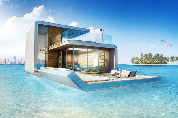 SLEEP AMONG THE FISH IN THE $1.8M FLOATING SEAHORSE