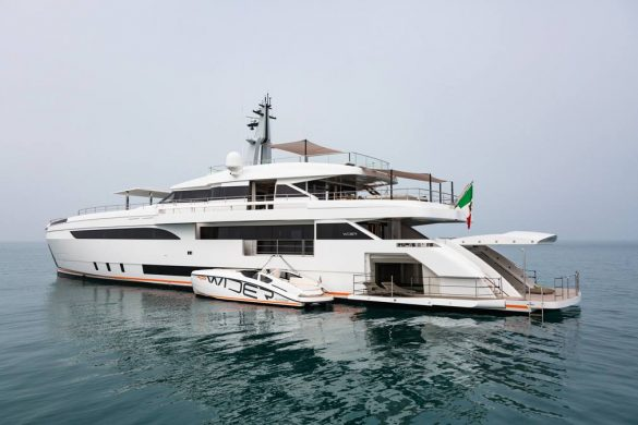 YACHT WIDER 150 – PROJECT GENESI